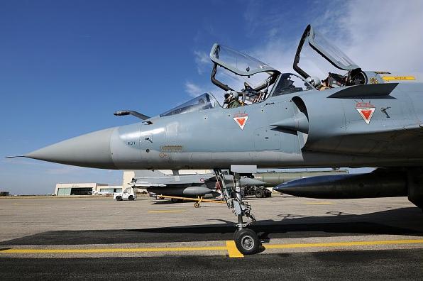 Mirage 2000 I/TI dans le cadre du chantier de modernisation, au centre d'essais en vol d'Istres. Crédit : © Dassault Aviation - V. Almansa