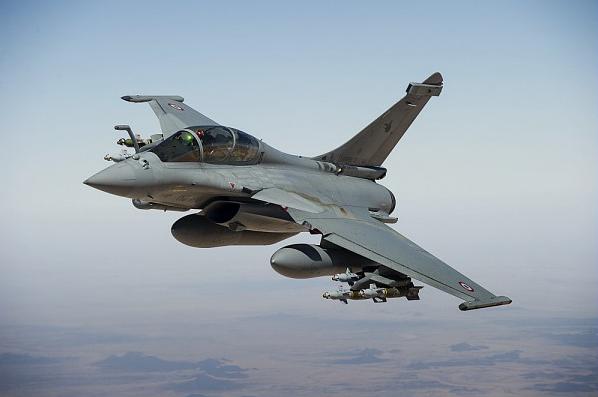 Rafale B de l'Armée de l'Air Française