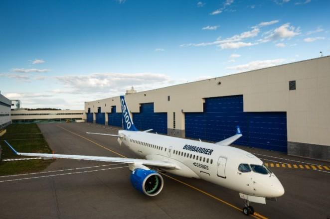 CS100 - Images fournies gracieusement par Bombardier Inc.