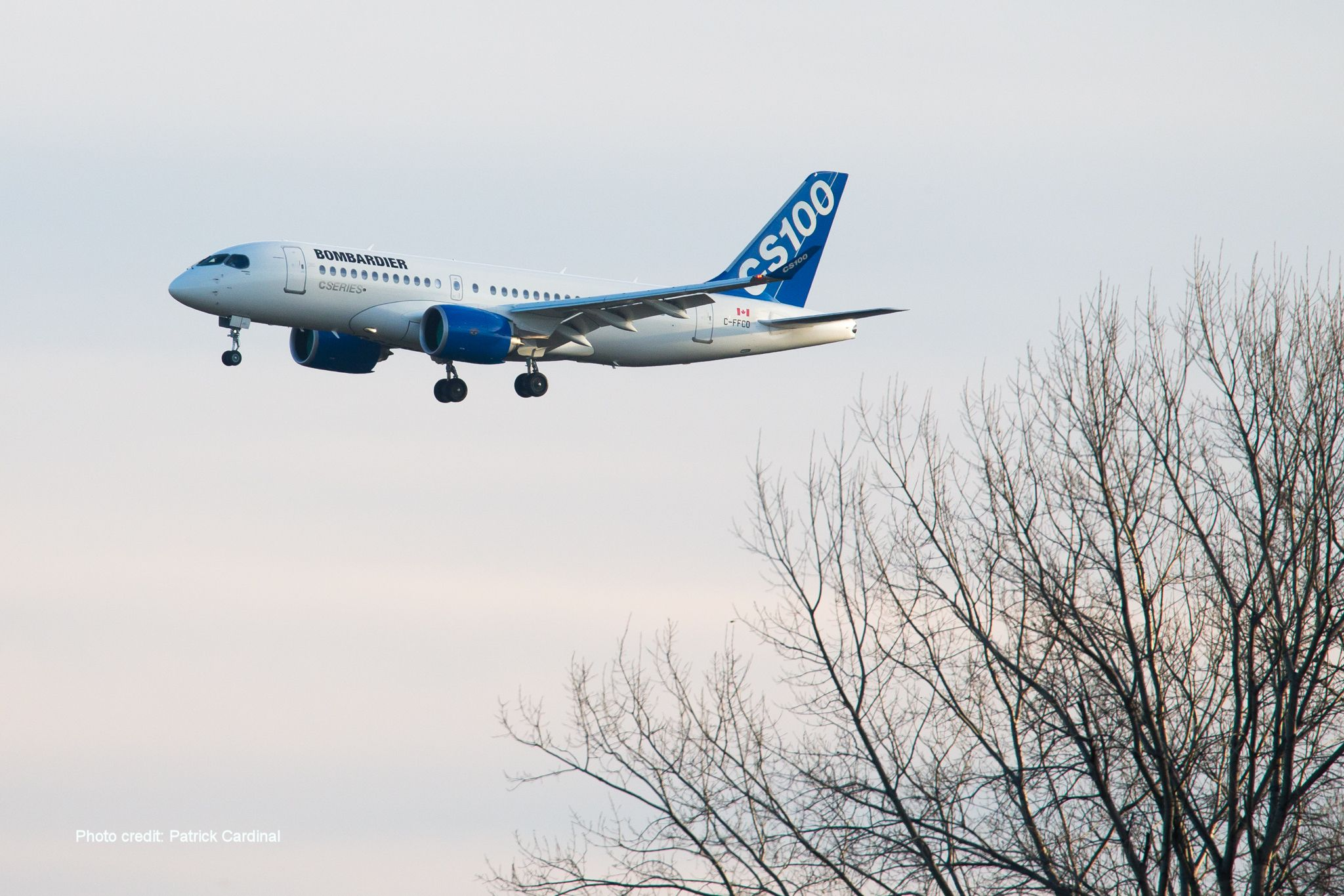 CS100 - Images fournies gracieusement par Bombardier Inc.