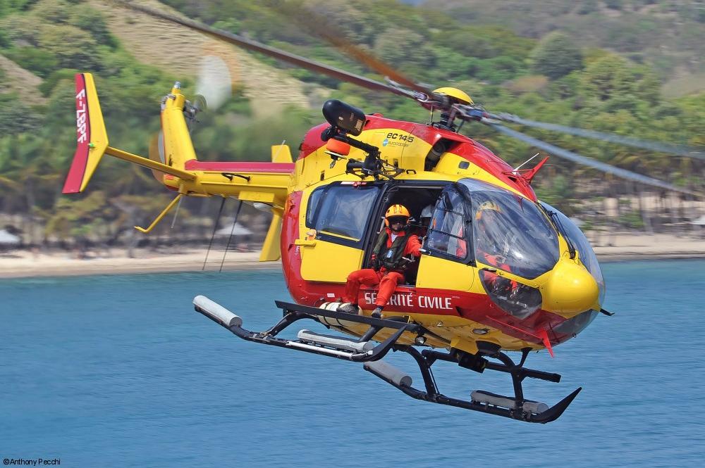 Sécurité Civile EC145 - ©AirbusHelicopters