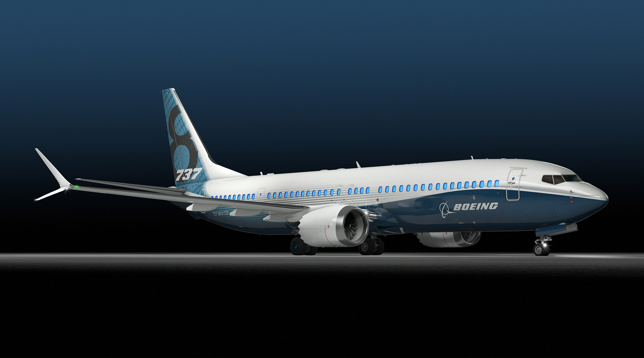Boeing 737 MAX 8 par Charly W. Karl sous (CC BY-ND 2.0)