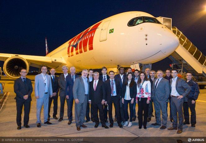 TAM A350 - ©Airbus