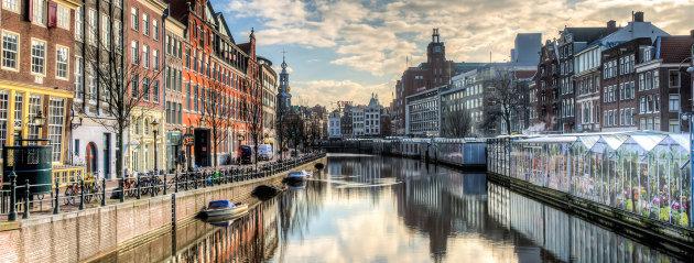 Le marché aux fleur d'Amsterdam - (c)AirFrance