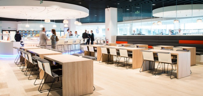 'The Loft' au Brussels Airport, un nouveau salon d'affaires