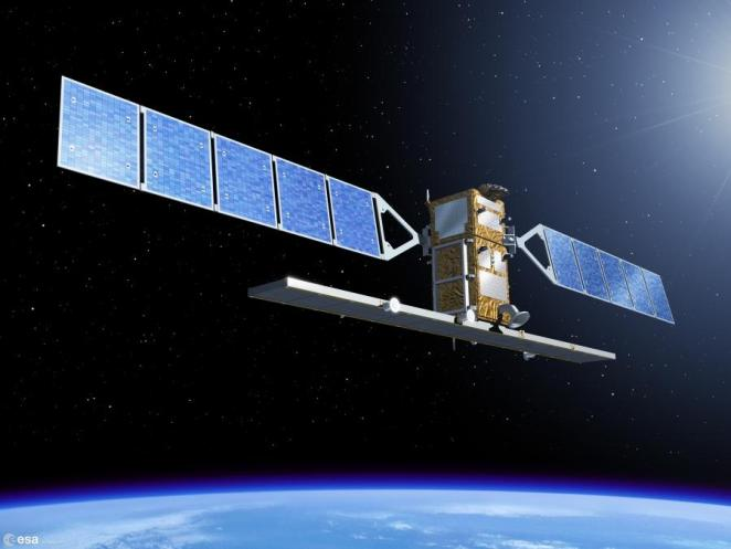 Sentinel 1 ©Thales Alenia Space