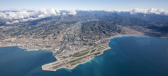 Nice - ©Aéroport Nice Côte d'Azur