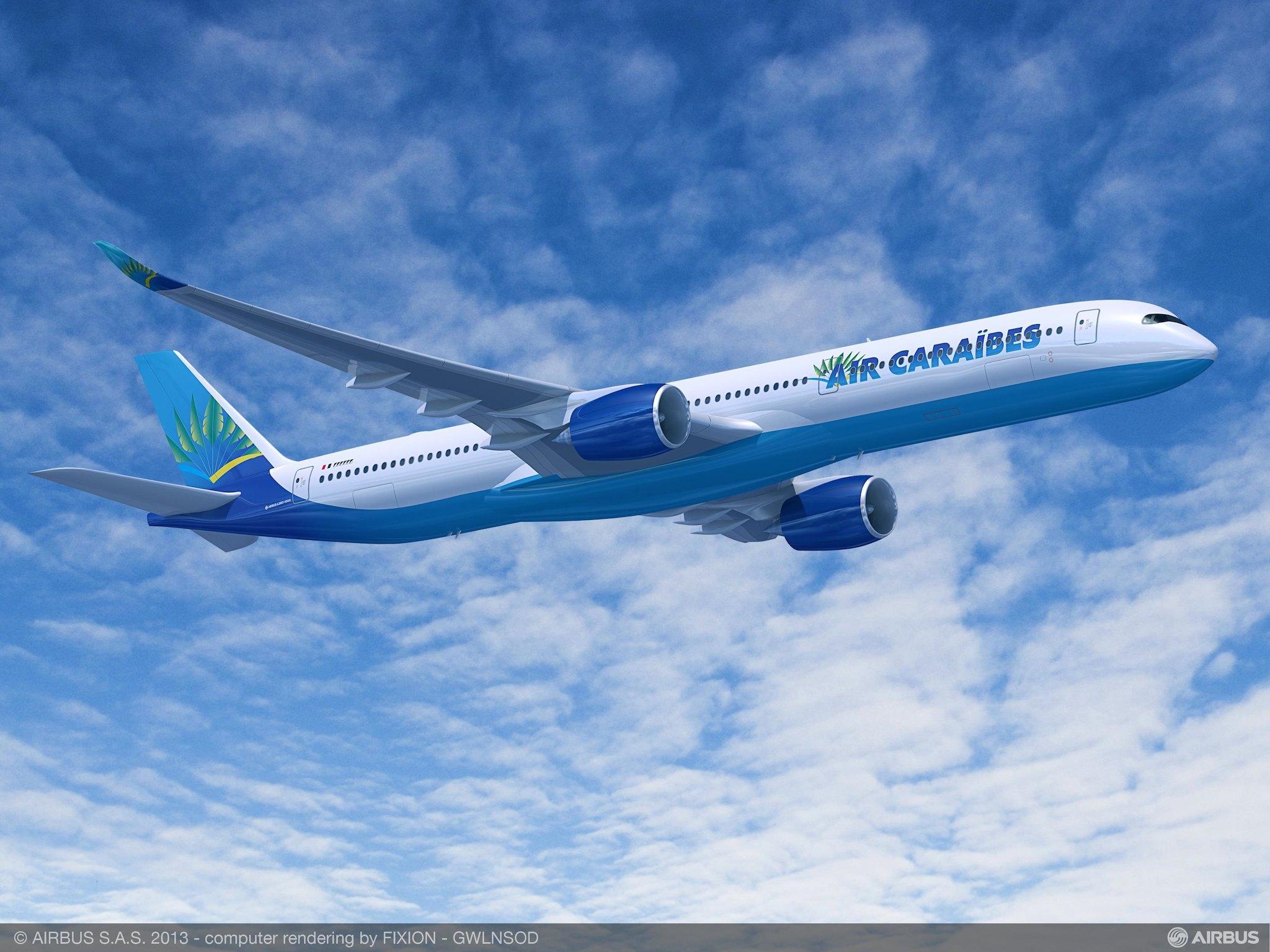 Airbus A350-1000 Air Caraibes - Airbus