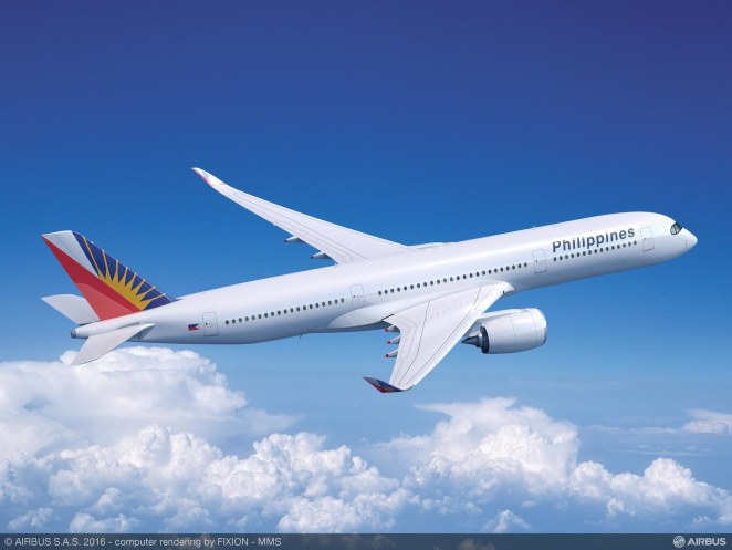 Philippine Airlines A350-900 - Airbus