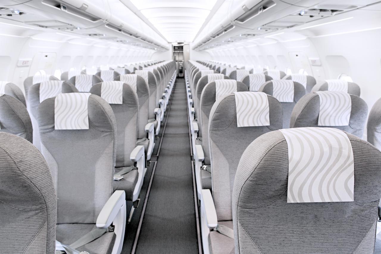 Finnair A320 cabin overview 01