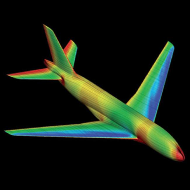 Modélisation des pressions exercées sur la surface d'un aéronef en vol- ONERA