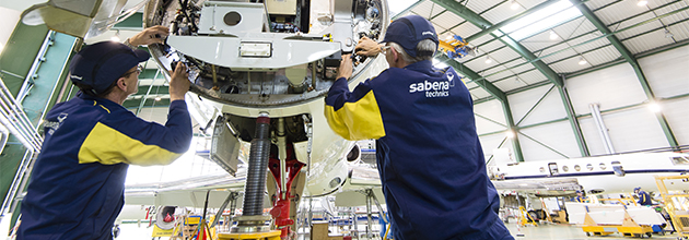 Maintenance sur Falcon - Dassault Aviation