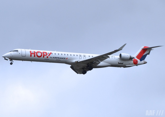 HOP CRJ 1000 Bombardier - BOD (c) AAF_Aviation