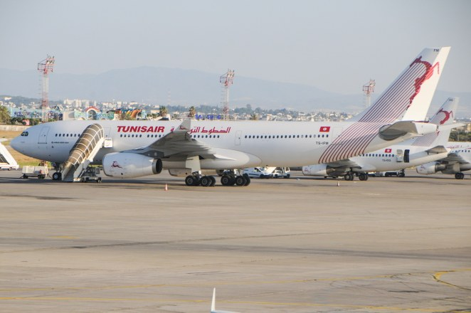 Le premier airbus A330 de Tunisair TS-IFM parCitizen59 sous(CC BY 3.0) https://commons.wikimedia.org/wiki/File:PremierA330TunisairTS-IFM_2.JPG https://creativecommons.org/licenses/by/3.0/deed.en