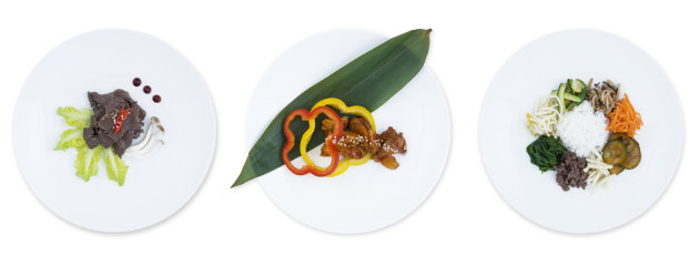 Plats du chef Youn-Youg KIM pour Air France Busines