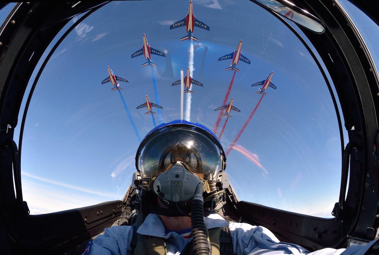 Patrouille de France - EPAA/ armée de l'air