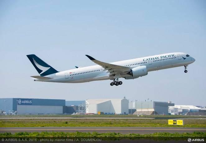 A350 Cathay Pacific - ©Airbus