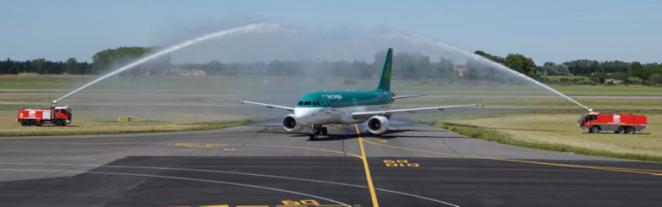 Aer Lingus - Montpelier 1er vol 2016