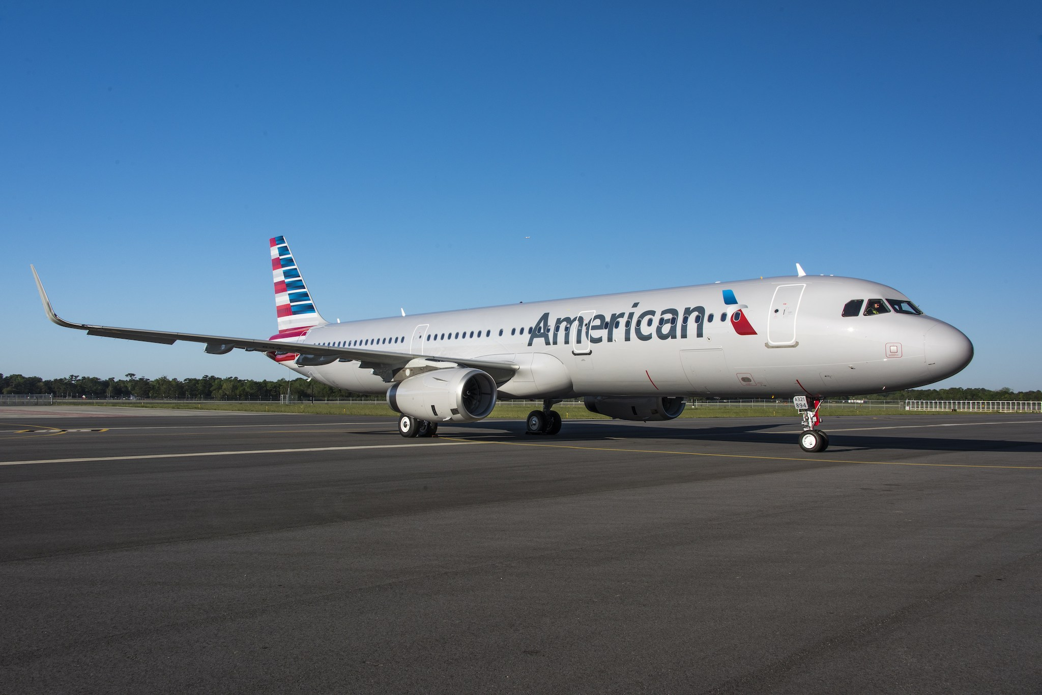 Airbus A321 American Airlines Mobile - Airbus