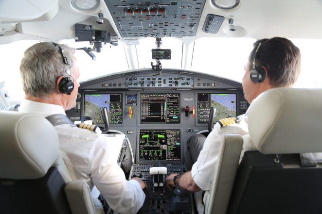 FALCON 2000 Inside - Dassault