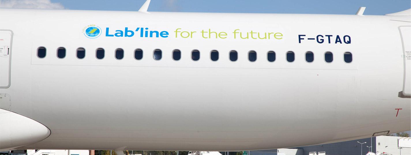 Airbus A321 (F-GTAQ) Air France - biocarburant