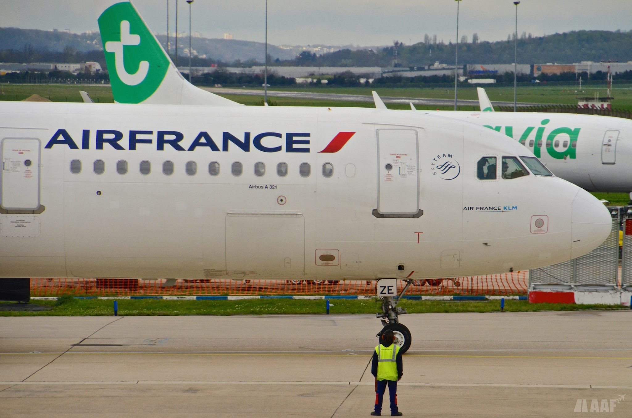 Airbus A321 Air France et Boeing 737 Transavia - ORY - AAF_Aviation