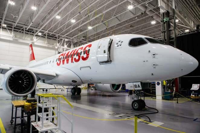 CS100 Bombardier - image gracieusement fournie par Bombardier inc